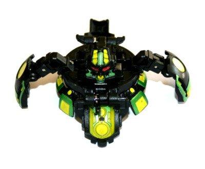 Bakugan Gundalian Invaders BakuBoost - BakuCore - Darkus COREDEM (Black)