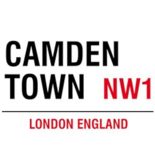 Nw1 Camden Town London England, Metall-Wandschilder Geschenke und Karten, Idee, Anlass, Geschenk, -