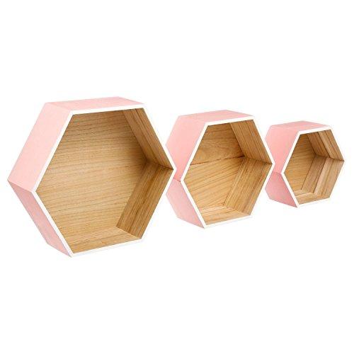 Set von drei Wandboards Lovely Pink