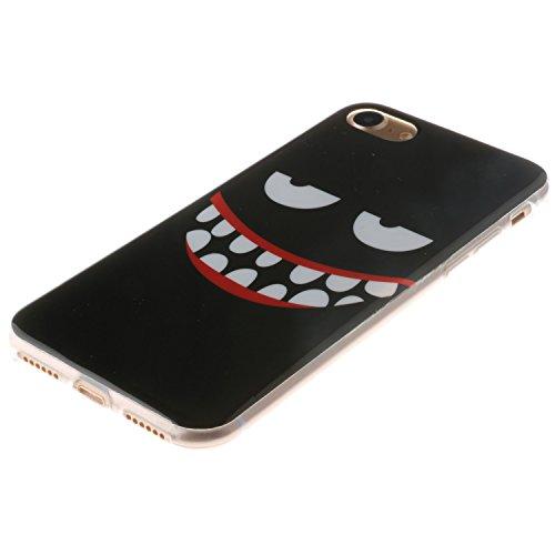 Voguecase® für Apple iPhone 6/6S 4.7 hülle, Anti-Rutsch Transparent Schutzhülle / Case / Cover / Hülle / TPU Gel Skin (Rutschfest/Faith) + Gratis Universal Eingabestift Große Augen 03