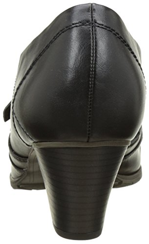 Softline 24460, Mocassins Femme Noir (Black 001)