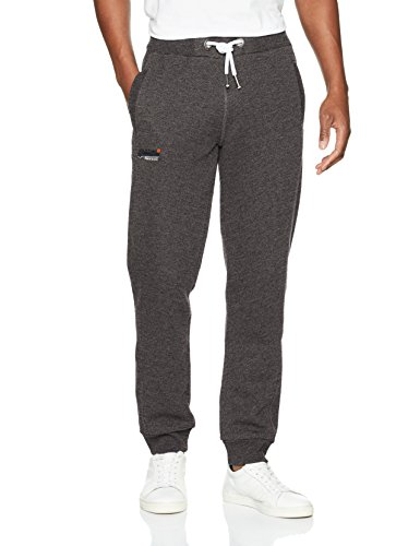 Superdry Herren Jogginganzug Orange Label Cali, Grigio (Bolt Charcoal Grit), Large (Cargo-hose Baumwolle-charcoal)