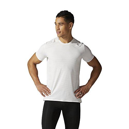 adidas Herren T-Shirt Weiß