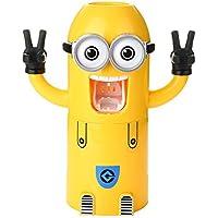 Walsoon Despicable Me sbires dentifrice automatique distributeur porte brosse à dents avec tasse