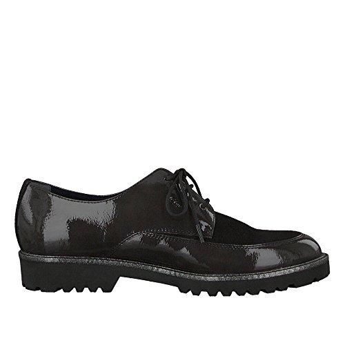 Chaussures gris 1 noir 23206 Tamaris femme 1 pour de à lacets 220 29 ville BXpCw4
