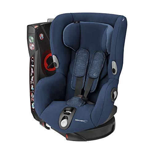 Bébé Confort Axiss Seggiolino Auto 9-18 kg, Girevole a 360° e reclinabile in 8 comode posizioni, Gruppo 1 per Bambini dai 9 Mesi ai 4 Anni, Blu (Nomad Blue)