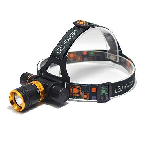 LED kopflampe 4000 Lumen - t6 Spearfishing Tauchen Kopf Lampe wasserdicht Scheinwerfer Led Beleuchtung Led Scheinwerfer Taschenlampe + Ac/Ladegerät