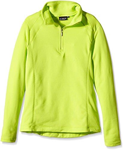 CMP Damen Fleece und Funktionsshirt 3E15346, Fleeceshirt, Lime Green, 44 -