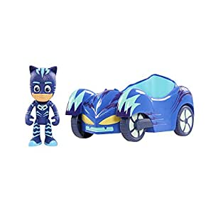 "JP PJ Masks ""Cat Boy Car"" Vehicle and Figure"