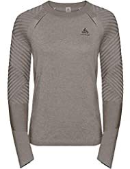 Odlo Midlayer Unity Kinship Light Sweat Zippè Femme