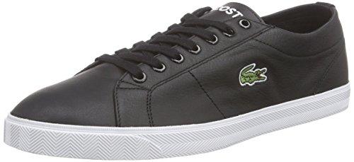 Lacoste da uomo Marcel LCR3SPM Sneakers, nero (Schwarz (BLACK/BLACK 02H)), 46.5 EU