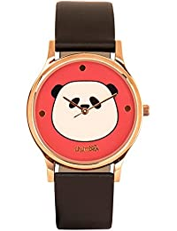 Chumbak Analog Red Dial Women's Watch-8904218090391