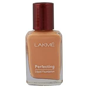 Lakme Perfecting Liquid Foundation, Shell, 27ml