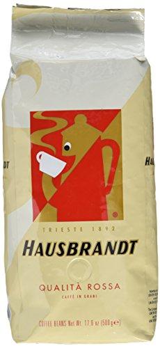 Caffé Hausbrandt Kaffee Rosso, ganze Bohne, 500 gr