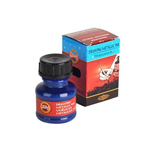 Minas para pintura Koh-I-Noor 5,6 x 120 mm color azul met/álico