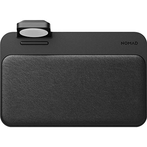 Chargeur Induction pour Smartphones & pour Apple Watch Noir Nomad