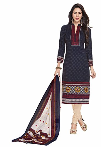 Miraan Unstitched Cotton Dress Material / Churidar Suit for Women | Party wear | Free Delivery