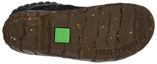 El Naturalista N097 Soft Grain Yggdrasil, Bottes Classiques Femme Noir (Black)