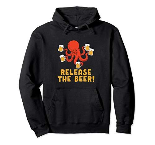 Lassen Sie das Bier Octopus Tasse Oktoberfest Wiesn Pullover - Octopus Kostüm Für Kleinkind