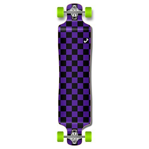 Yocaher Punked Lowrider durch Complete Skateboard Longboard
