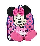 Sac A Dos Gouter Maternelle Cartable Minnie Rose Disney