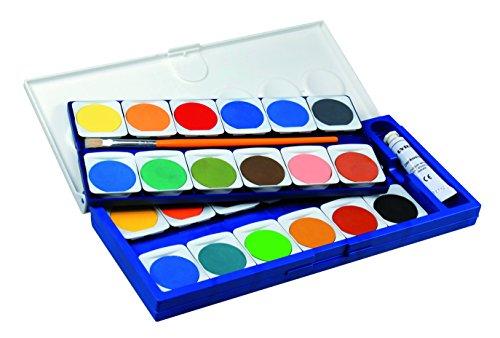 LYRA Malkästen Deckfarbkasten mit 24 Farben, Sortiert