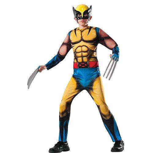 der Jungen Halloween Fasching Karneval Outfit Muskel Kostüm 128-140 (Baby-muskel-kostüm)