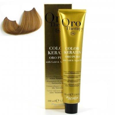 color keratin oro puro n°8.0 blond clair 100 ml