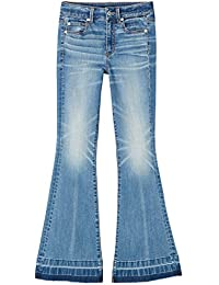 FIND Damen Jeans mit Schlag