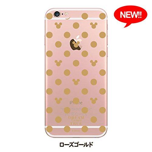 iPhone 6(non 6Plus) Transparent Étui-Disney-Mickey Mouse