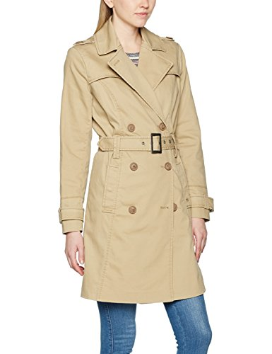 Brandit Damen Mantel Trenchcoat Girls, (Beige 3), X-Small