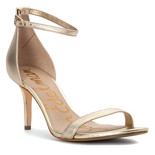 Sam Edelman Patti, Escarpins femme Light Gold Leather