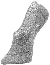 Y-BOA 5 Paires Chaussettes Femme Fille Courte Invisible Été/Printemps Sport Casual