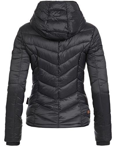 Marikoo Kuala, veste matelassée pour dame mi-saison Noir