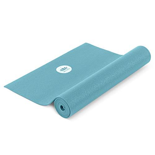 Lotuscrafts Yogamatte Mudra Studio [5mm Dicke] - schadstoffgeprüft nach Oeko TEX 100 - für Anfänger und Fortgeschrittene - Profi Matte für Yoga, Pilates, Sport und Training
