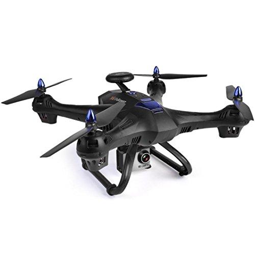 Oyedens RC Quadcopter Drone X183S 5G 1080P WiFi FPV Camera 6-Axis Gyro GPS Drone LED Follow Me Grande rc Quadcopter Giocattoli per Bambini in Vendita (Nero) Natale Regalo