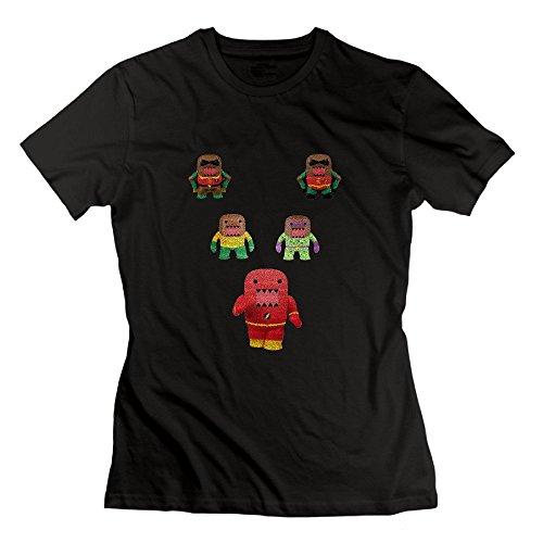 Nana-Custom Tees Damen T-Shirt Gr. xxl, Schwarz - (Minnie Cute Up Mouse Make)