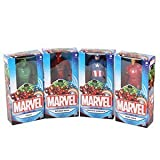 Marvel Action Figure Avengers 15cm set di 4, Spider-Man, Iron Man, Captain America & Hulk