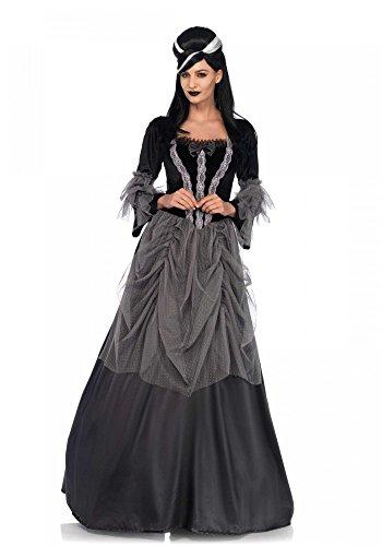Queen Kostüm Gothic - shoperama Viktorianisches Gothic Renaissance Ballkleid Damen-Kostüm von Leg Avenue Halloween, Größe:M