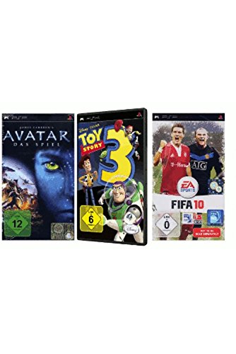 PSP 3 in 1 Spiele Pack 3 (James Cameron's Avatar (Das Spiel)...