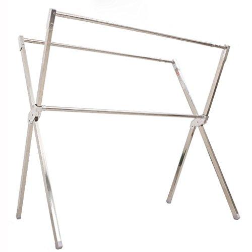Tendederos HWF Tipo X Racks de Secado Folding de Suelo Balcón de...