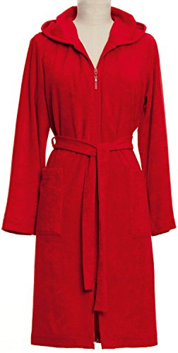 Möve Unisex Bath Robe Terry Cloth with Zip