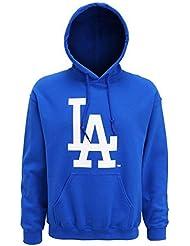 Américain Sports Merchandise hommes de mj007royas officielle la Dodgers grand logo sweat à capuche Petit Royal, Bleu, S