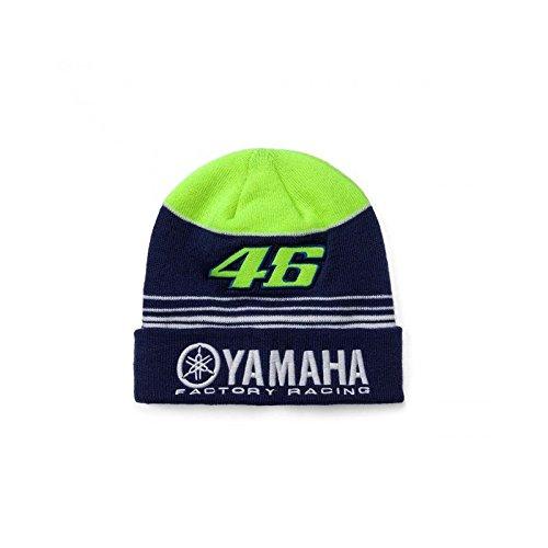 VR46–Mütze Valentino Rossi Moto GP Yamaha Racing Mehrfarbig 17offiziellen
