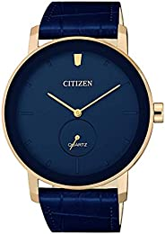 Citizen Men's Quartz Be9183 03L Leather Japanese Dress W