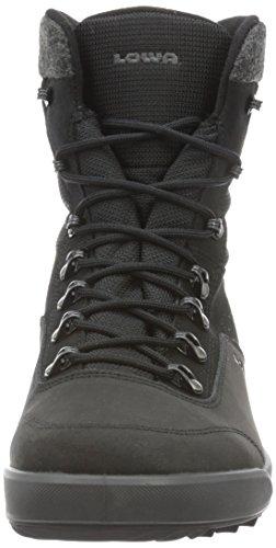 Lowa Kazan Gtx Mid, Chaussures de Randonnée Hautes Homme, Gris Noir (schwarz)