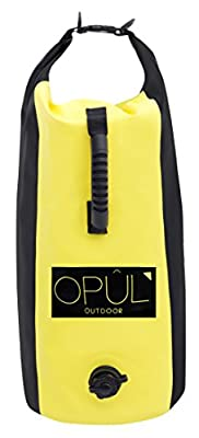 Dry Bag by Opul, 25 Liter, Adjustable Dual Back-Strap, Waterproof Bag - Keep Your Things Safe and Dry - Perfect for Kayaking, Swimming, Camping, Fishing, Rafting, Snowboarding and Outdoor Sports from OPUL