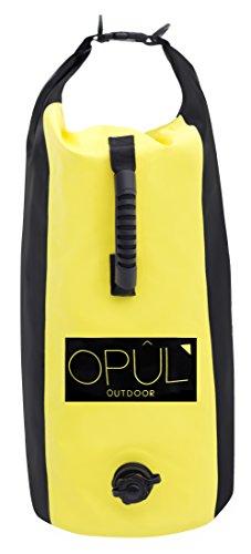 Opul - Sacca a Tenuta Stagna, 25 L, doppia cinghia di trasporto, Borsa Impermeabile, Perfetta da portare in barca, sul kayak, a nuoto, in campeggio e in tutti gli sport all'aperto