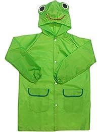 Chubasquero con capucha niños Bomio, resistente al agua, varios diseños y colores para niños de 110 A 120 cm