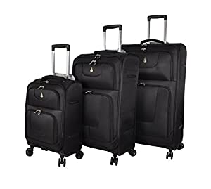 Aerolite Super Lightweight 8 Wheel Spinner Luggage Suitcase Travel Trolley Cases